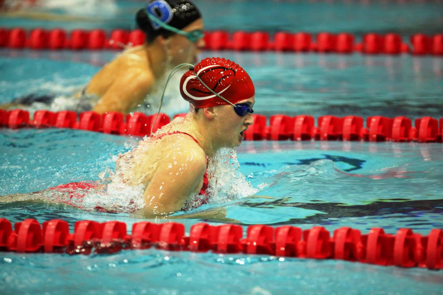 Cumberland Valley High School Swimming And Diving Team Go Eagles